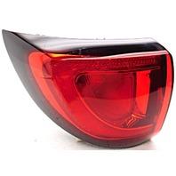 OEM Chrysler Pacifica Left Driver Side Quarter Mounted Tail Lamp Lens Cracks