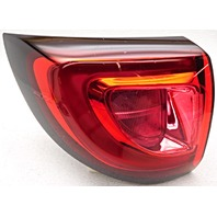 Non-US Market Pacifica Left Hand Quarter Mount Tail Lamp Lens Crack