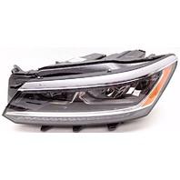 OEM Volkswagen Passat Left Driver Side LED Headlight Mount Missing