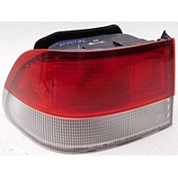 OEM Honda Civic Coupe Left Driver Quarter Mount Tail Lamp Trim Chipped