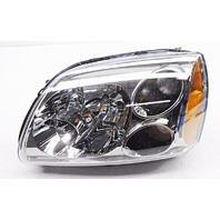 OEM Mitsubishi Galant Left Driver Halogen Dark Chrome Bezel-Tab Missing