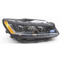 OEM Volkswagen Passat Right Passenger LED Headlight Head Lamp-Lens/Housing Chip