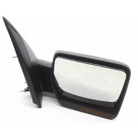 OEM Ford F-150 Right Passenger Black Unpainted Side Mirror With Signal-Scratches