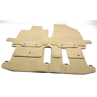 New OEM Infiniti QX60 W/ 3rd Row Beige Wheat Floor Mats Set of 4 999E2-R2001