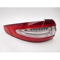 OEM Ford Fusion S SE Left Quarter Panel Tail Lamp DS7Z-13405-H Lens Chips