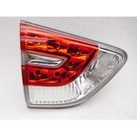 OEM Nissan Pathfinder Hybrid Left Gate Mounted Tail Lamp 26555-3KV2A Lens Chip