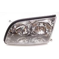 OEM Lexus LS400 Left Driver Halogen Chrome Headlight Head Lamp-Tab Crack/Repair