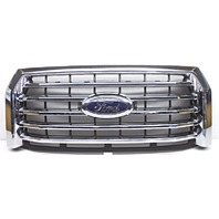 OEM Ford F150 XLT Front Chrome Grille Surface Scratches FL3Z8200EA