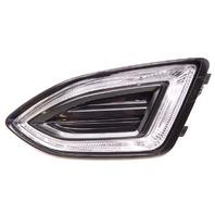OEM Ford Edge Left Driver Lower Bumper LED Park Lamp Turn Signal-Ref Chip/Crack