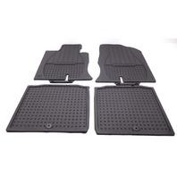 New OEM Hyundai Azera All Weather Rubber Floor Mats 4 Piece Black 3V013-ADU00