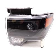 OEM Ford F-150 Left Driver Bare Xenon Headlight Head Lamp-Haze/Peg Missing