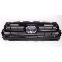 OEM Toyota Tacoma SR Black Matte Front Upper Grille W/ Emblem-Scratches