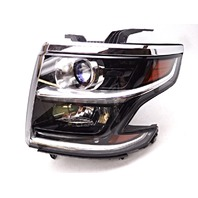 OEM Suburban Tahoe Left Driver Halogen Headlight Headlamp-Chrome Scratch