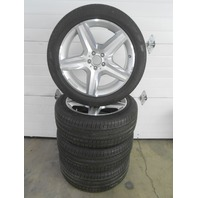OEM Mercedes-Benz ML-class AMG 20x9 Rims and Tires 166-401-20-02