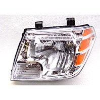OEM Nissan Frontier Left Driver Halogen Headlight Head Lamp-Tab Missing/Chip