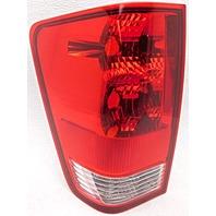 OEM Nissan Titan Left Driver Side Tail Lamp 265557S227