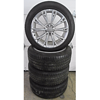 OEM Audi A8 19x9 inch Alloy Rim and Tire Set Small Marks Scuffs