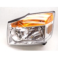 OEM Nissan Armada Left Driver Halogen Headlight Headlamp-Water Spots/Crack