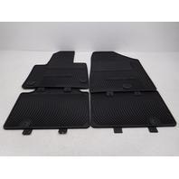 OEM Hyundai Santa Fe 7-passenger 4-piece All Weather Floor Mat Set B8013-ADU00