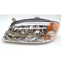 OEM Kia Spectra Left Driver Halogen Headlight Head Lamp-Lens Scratches