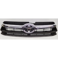 OEM Toyota Highlander Upper Inner Grille 53101-0E170 Chrome, Missing Bar
