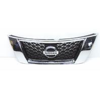 OEM Nissan Pathfinder 3.5L Front Upper Grille w/ Camera 62310-3KA0B