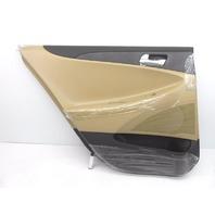 OEM Hyundai Sonata Rear Left Driver Door Trim Panel Black/Tan-Nicks/Scratches