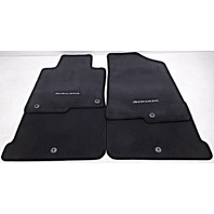 OEM Hyundai Sonata 4-piece Floor Mat Set Black Carpet C1F14-AC000