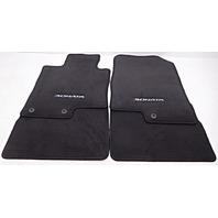 OEM Hyundai Sonata 4-piece Floor Mat Set Black 3QF14-AC200-RY
