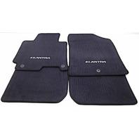 OEM Hyundai Elantra Sedan 4-piece Floor Mat Set Black 3XF14-AP200-RY