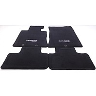 OEM Hyundai Genesis Coupe 4-piece Floor Mat Set Black 2M014-ADU10-9P