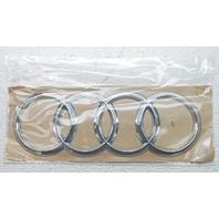 OEM Audi A8 A8L S8 Rear Lid Emblem 4H0853742B2ZZ