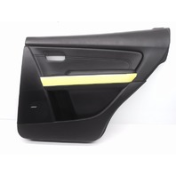 New OEM Mazda CX-9 Rear Right Black Door Trim Panel Bose-Rivet Missing