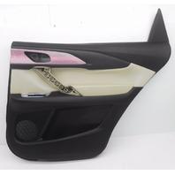 New OEM Mazda CX-9 Rear Right Black/Sand Door Trim Panel TK79-68-520E-2A