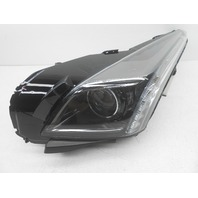 OEM Cadillac CTS Left Driver Complete HID Headlight Head Lamp-Lens Crack