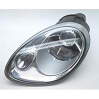 OEM Porsche Boxster Left Driver Halogen Headlamp 98763116320 Lens Crack