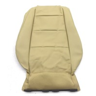 New OEM Audi A4/S4 Rear Right Passenger Upper Seat Cover Beige Leatherette