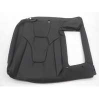New OEM Audi Audi S5 Base 4.2L Rear Right Upper Seat Cover Black Leather