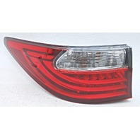 OEM Lexus ES350 ES300H Left Driver LED Tail Lamp 81561-33560 Housing Chip
