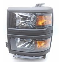 OEM Silverado 1500 Work Truck Left Driver Halogen Headlamp 23380552 Trim Chip