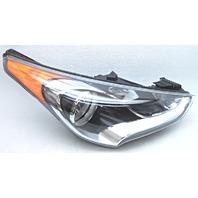 OEM Veloster Right Passenger Halogen Headlamp 92102-2V000 Tab Gone Lens Scratch