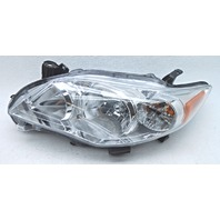 OEM Corolla Left Driver Halogen Headlamp 81150-02B50 Tab Gone Lens Scratches