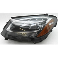 OEM Mercedes-Benz C300 C350e C450 Left Driver Halogen Headlamp Lens Defect