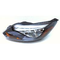 OEM Ford Focus Left Driver Halogen Black Head Lamp Headlight-Tab Chipped