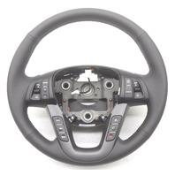 OEM Kia Optima Steering Wheel Black Leather Paddle Shift 56120-2T000VA
