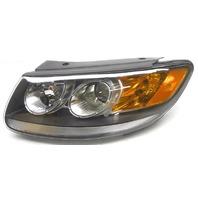 OEM Santa Fe Left Driver Side Halogen Headlamp w/Clear Low Reflector 92101-0W500