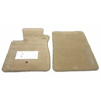 New Old Stock OEM Ford F150 Front Floor Mat Prairie Tan-Driver Minor Frayed