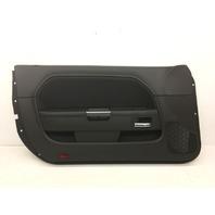 Chrysler Dodge Challenger Base Front Door Trim Panel - Black Cloth 1MT251DVAG