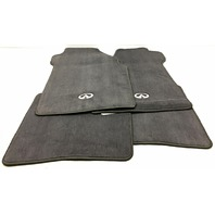 OEM Infiniti I35 Floor Mat Set of 4 999E2-FM000-BK Black