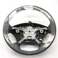 OEM 2001-03 Dodge Caravan Voyager Gray Leather Steering Wheel-Minor Cut